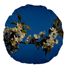 Cherry Blossom 18  Premium Round Cushion