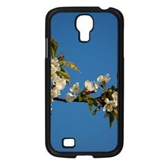 Cherry Blossom Samsung Galaxy S4 I9500/ I9505 Case (Black)
