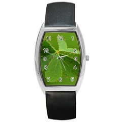 Drops Tonneau Leather Watch