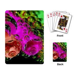 Tubules Playing Cards Single Design