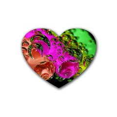 Tubules Drink Coasters 4 Pack (heart)