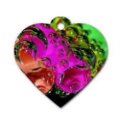 Tubules Dog Tag Heart (Two Sided)