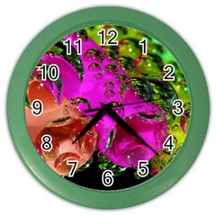Tubules Wall Clock (Color)