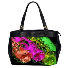 Tubules Oversize Office Handbag (two Sides)