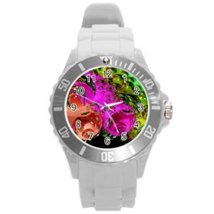 Tubules Plastic Sport Watch (large)