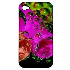Tubules Apple iPhone 4/4S Hardshell Case (PC+Silicone)
