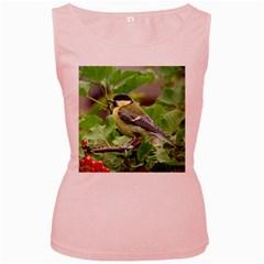 Songbird Womens  Tank Top (Pink)