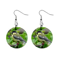 Songbird Mini Button Earrings