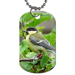 Songbird Dog Tag (Two-sided)