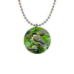 Songbird Button Necklace