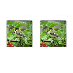 Songbird Cufflinks (square)