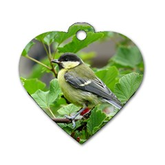 Songbird Dog Tag Heart (Two Sided)