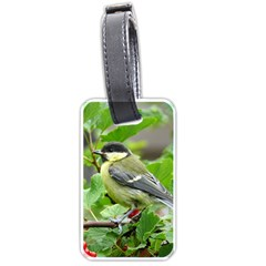 Songbird Luggage Tag (Two Sides)