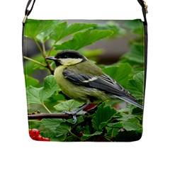 Songbird Flap Closure Messenger Bag (Large)