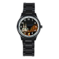 Cologne Cathedral Sport Metal Watch (black)