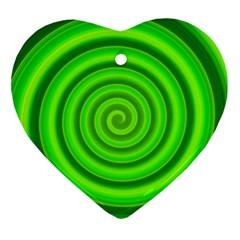 Modern Art Heart Ornament