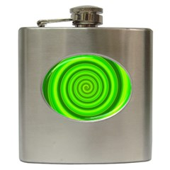 Modern Art Hip Flask