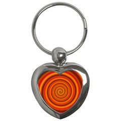 Modern Art Key Chain (Heart)