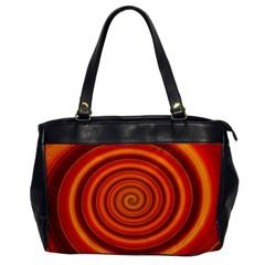 Modern Art Oversize Office Handbag (One Side)
