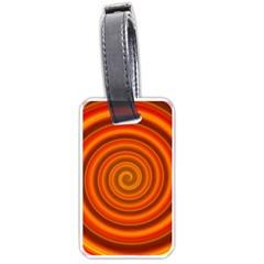 Modern Art Luggage Tag (one Side)