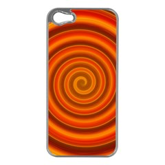 Modern Art Apple iPhone 5 Case (Silver)