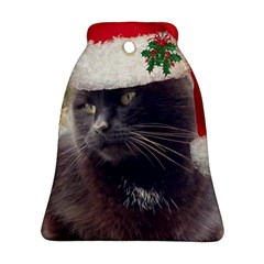 CHRISTMAS KITTY Bell Ornament