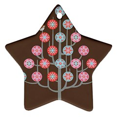 For The Birds Star Ornament
