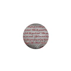 Maggie s Quote 1  Mini Button