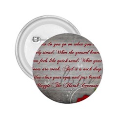 Maggie s Quote 2 25  Button