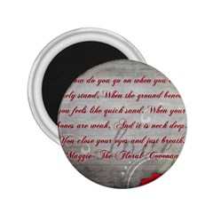 Maggie s Quote 2.25  Button Magnet