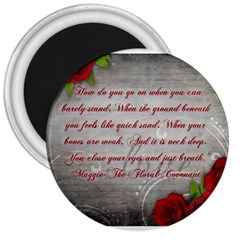 Maggie s Quote 3  Button Magnet