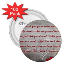 Maggie s Quote 2.25  Button (100 pack)