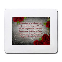 Maggie s Quote Large Mouse Pad (Rectangle)