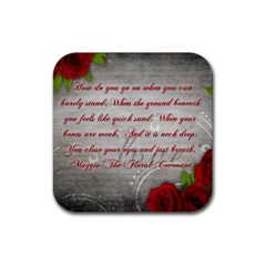 Maggie s Quote Drink Coaster (square)