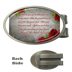 Maggie s Quote Money Clip (Oval)