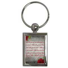 Maggie s Quote Key Chain (Rectangle)