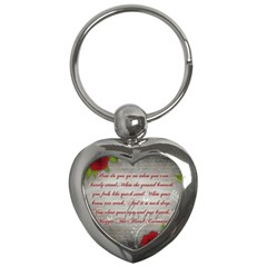 Maggie s Quote Key Chain (heart)