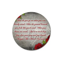 Maggie s Quote Magnet 3  (Round)