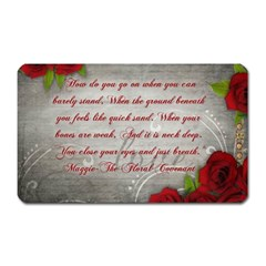 Maggie s Quote Magnet (Rectangular)