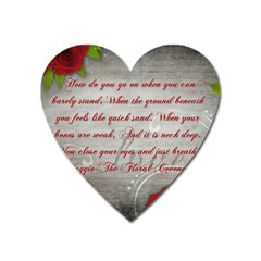 Maggie s Quote Magnet (Heart)