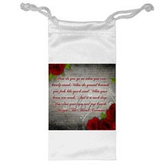 Maggie s Quote Jewelry Bag