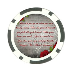 Maggie s Quote Poker Chip