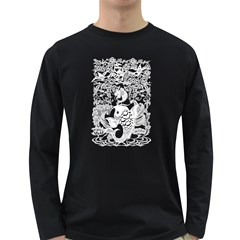 Form of Auspiciousness Mens' Long Sleeve T-shirt (Dark Colored)
