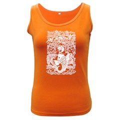 Form of Auspiciousness Womens  Tank Top (Dark Colored)