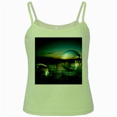 Magic Balls Green Spaghetti Tank