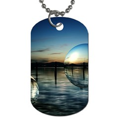 Magic Balls Dog Tag (two Sided)