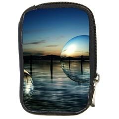 Magic Balls Compact Camera Leather Case