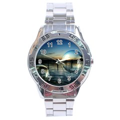 Magic Balls Stainless Steel Watch (Men s)