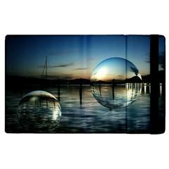 Magic Balls Apple iPad 2 Flip Case