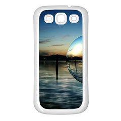 Magic Balls Samsung Galaxy S3 Back Case (White)